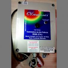 Caixa de Comando para Led 5A RGB Mod CV1+ Bombas de 1/4 HP até 1HP.